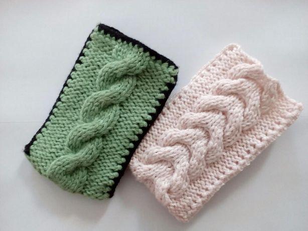 Etui na telefon, sweterek na telefon różne wzory
