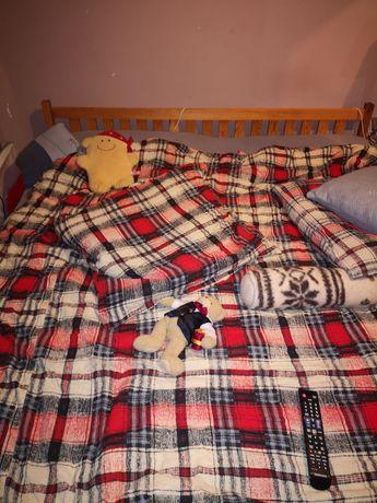 Łóżko sypialniane drewniane 180/200