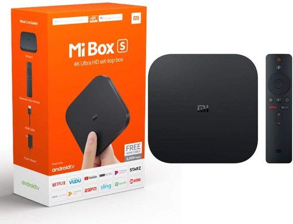 Odtwarzacz multimedialny Mi Box S smart TV 8GB