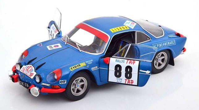 Miniatura 1:18 - Alpine A110  – winner Rallye Portugal - 1971