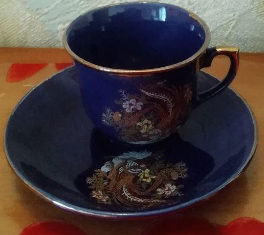 Кофейные наборы, сервизы, кофейная чашка с блюдце как новые