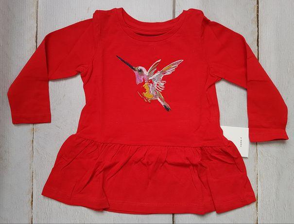 Bluzka z haftem koliber