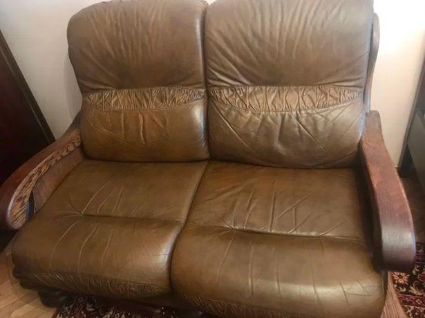 Шкіряний диван двійка Нідерланди/Голландія