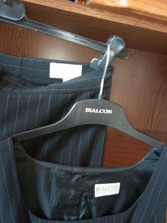 kostium BIALCON spodnie + kamizelka bluzeczka