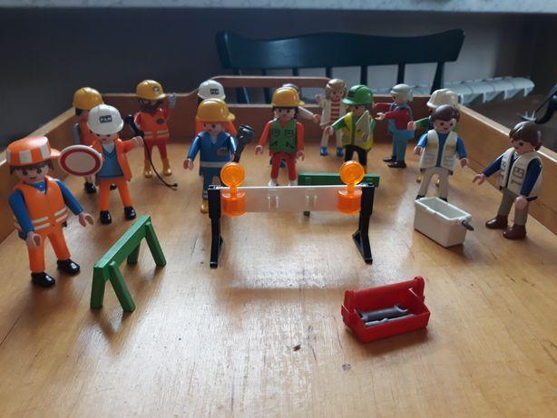 Playmobile roboty drogowe