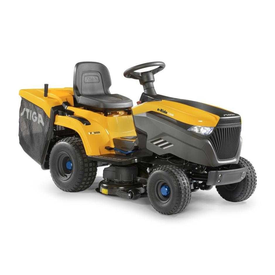 Traktorek akumulatorowy Stiga e-Ride C500 - Baras