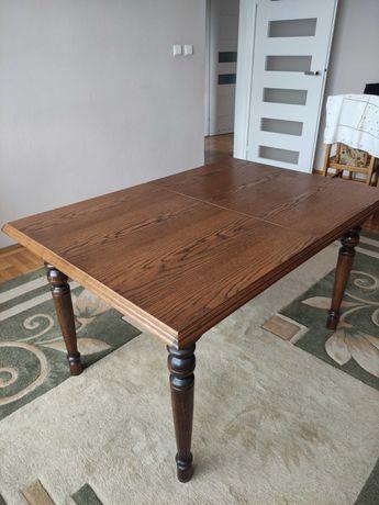 Stół dębowy rozkładany 90/130-180