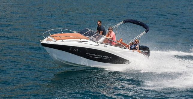 Nowa łódź motorowa BARRACUDA 585 DAY CRUISER,7 osobowa,max 150 KM,f-ra