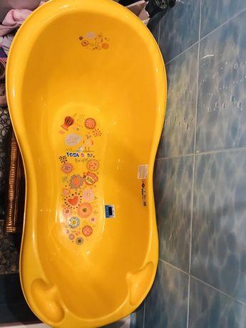 Детская ванночка для купания малыша Tega Baby