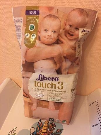 Libero touch 3 либеро pampers huggies 2 подгузники
