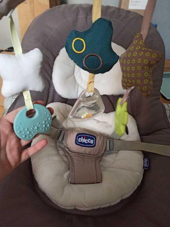 Leżaczek bujaczek chicco hoopla 2w1 wkładka sla noworodka