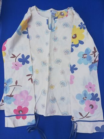 Blusa florida da Zara