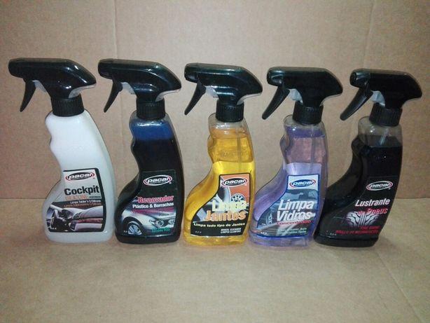 Produtos de limpeza auto