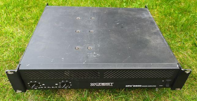 Crest CPX 2600 końcówka mocy