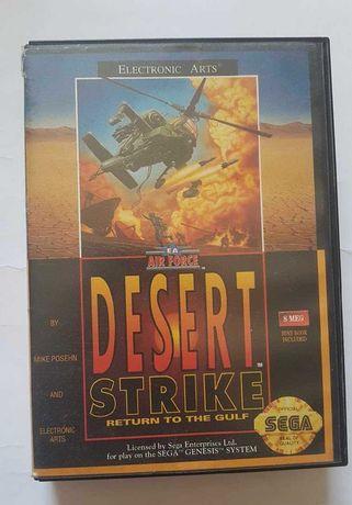 Desert Strike. Return to the Gulf / картридж Sega