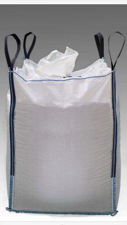 Worki typu BIG BAG BAGI BEGI mocne czyste worki używane 95/95/168 cm