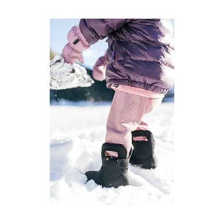 Сапоги ботинки bogs solid black 5 /21 размер