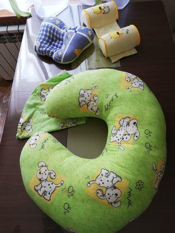 Подушка для кормления, подушка бабочка, валики