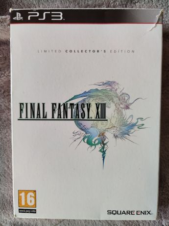 Final Fantasy XIII Limited Collectors Edition Ps3