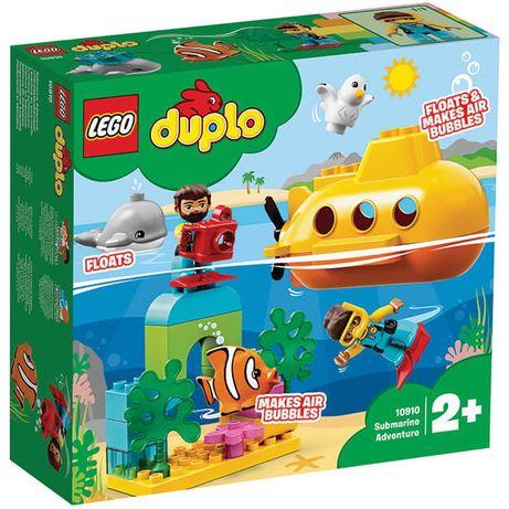 Конструктор LEGO Duplo 10910 Приключения на подводной лодке