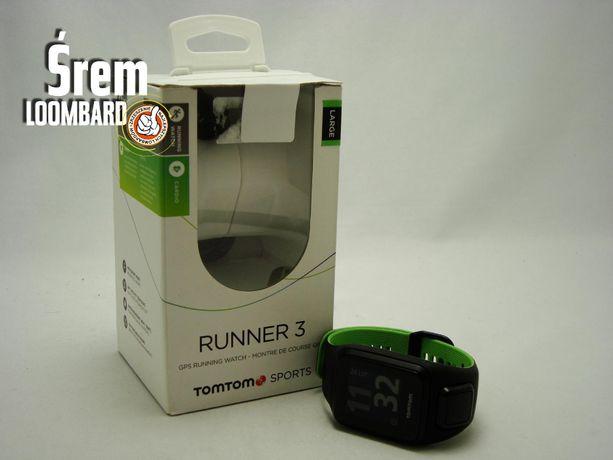 Zegarek sportowy TomTom Runner 3, komplet, db stan!