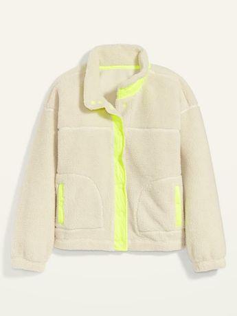 OLD navy sheep's jacket кофта из шерпы новая