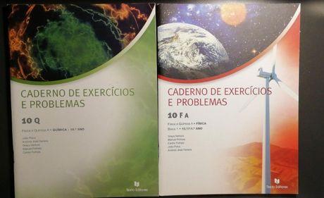 Caderno de exercícios e problemas F.Q 10ºano