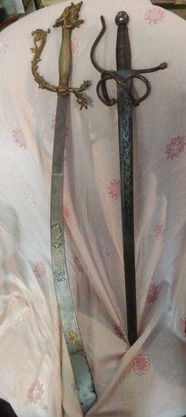 Espadas antigas decoracao