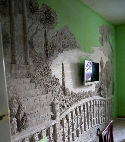 Декор, оформление помещений, роспись, картины, лепка, барельеф