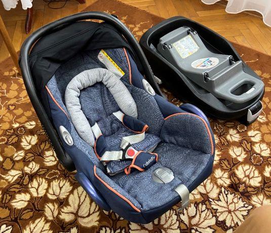 Fotelik Maxi Cosi cabriofix z bazą IsoFix i fotelikiem Pearl