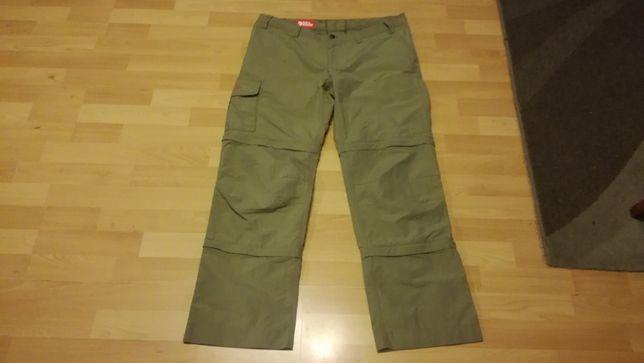 Spodnie funkcyjne damskie FJALLRAVEN KARLA 3 MT r.L stan bardzo dobry