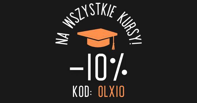 [KURSY ONLINE] -10% na wszystko!