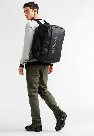 непромокаемая сумка-рюкзак для путешествий Tatonka Flight Barrel Black
