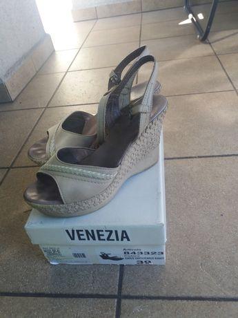 Sandały skóra Wenezia 39