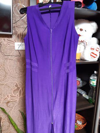 Платье вечернее фиолетовое