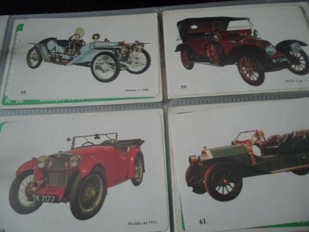 21 Calendarios de Carros Antigos 1989