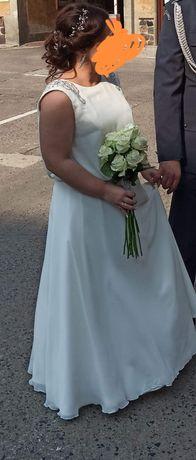 Suknia ślubna roz. 40/42 używana