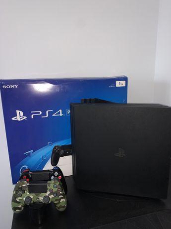 Playstation 4 PRO Dysk SSD + 2 Dualshock