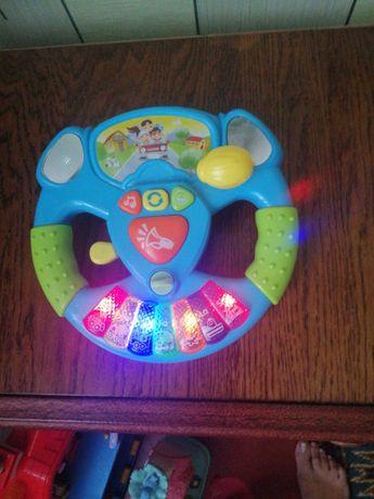 Игрушка детская Музыкальный руль