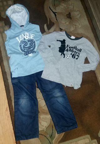 Ubranka chłopięce 110-116