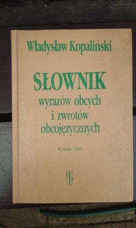 Słownik wyrazów obcych i zwrotów obcojęzycznych -W.Kopaliński