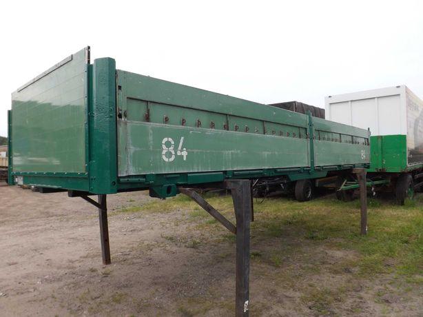 zabudowa BDF burtowa (przyczepa) skrzynia ładunkowa