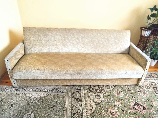 Wersalka z zagłówkami składana łóżko rozkładane kanapa sofa