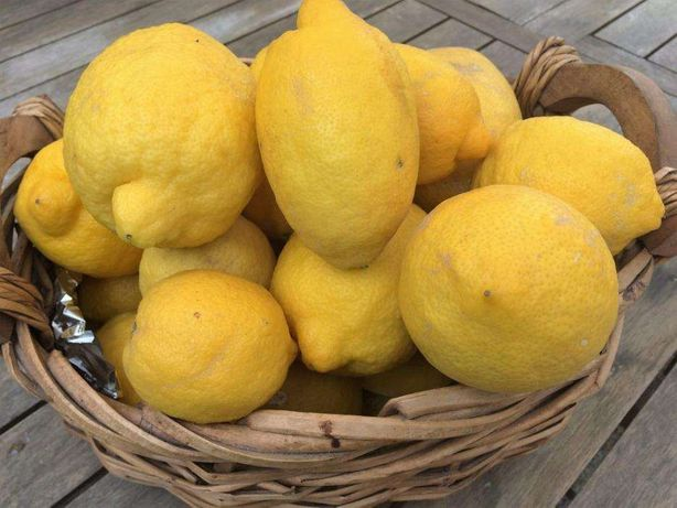 Limões biológicos e naturais