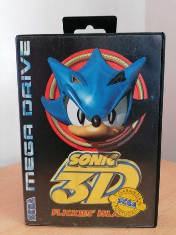 Sonic 3D: Flickies' Island - Sega Mega Drive