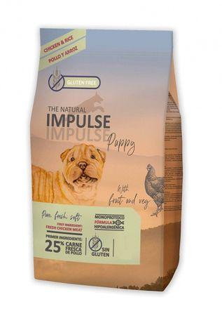 Ração - THE NATURAL IMPULSE PUPPY P/Cachorro - FRANGO - Saco 3kg / 12k