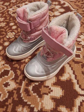 Зимние ботинки. Зимові черевички. Черевики. Сапоги