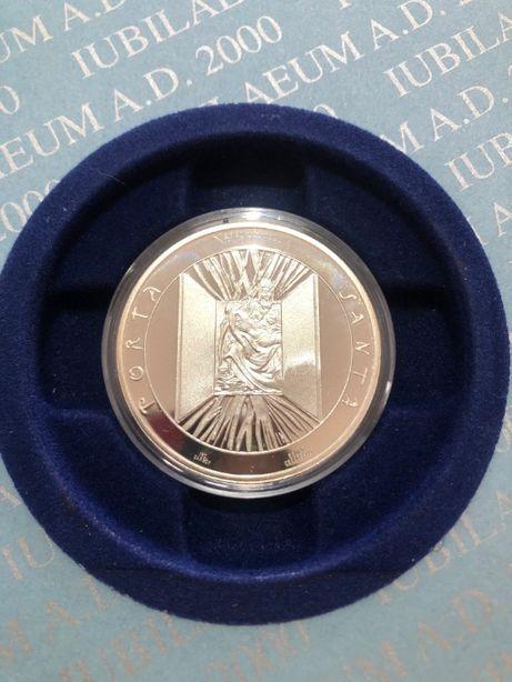 Vendo Moeda em Prata 925, comemorativa do grande Jubileu do ano 2000.