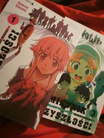 Mirai Nikki Pamiętnik Przyszłości tom 3 manga anime