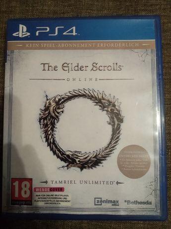 The Elder Scrolls Online - PS4 - Stan Idealny jak NOWA